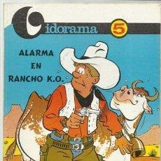 Tebeos: VIDORAMA 5: ALARMA EN RANCHO K.O., 1968, JAIMES LIBROS, MUY BUEN ESTADO. Lote 107553343