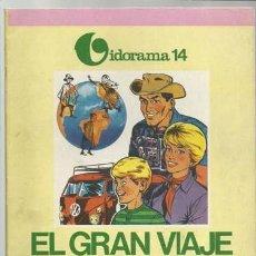 Tebeos: VIDORAMA 14: EL GRAN VIAJE DE LOS FRANVAL, 1970, JAIMES LIBROS, MUY BUEN ESTADO. Lote 107554643