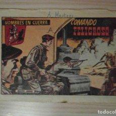 Tebeos: COMANDO PELIGROSO. Nº 14 DE HOMBRES DE GUERRA. EDITORIAL SORIANO. 1957. Lote 108063275