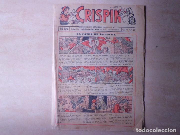 CRISPIN LA CAIDA DE LA DICHA (Tebeos y Comics - Tebeos Clásicos (Hasta 1.939))