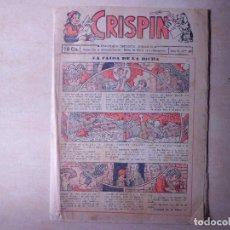 Tebeos: CRISPIN LA CAIDA DE LA DICHA. Lote 108263083