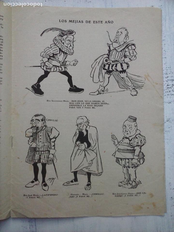 Tebeos: GEDEÓN ORIGINALES nºs 446 y 519 - 10 junio 1904 Madrid - 5 noviembre 1905 - Foto 4 - 108312695