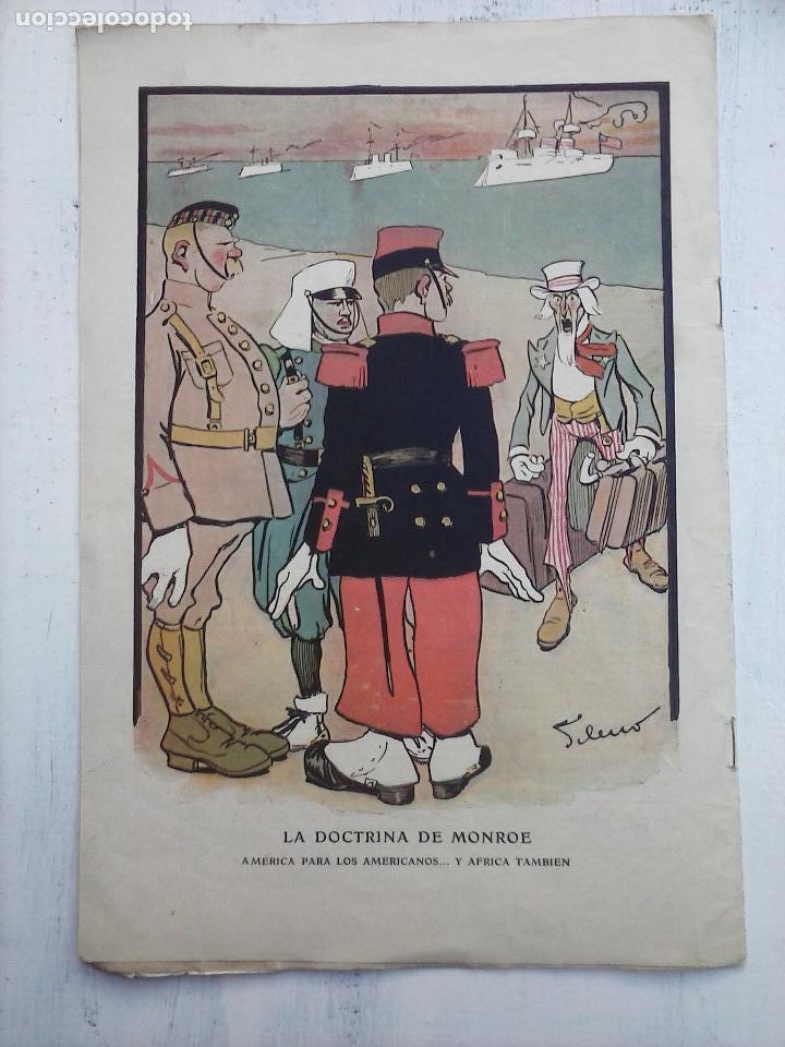 Tebeos: GEDEÓN ORIGINALES nºs 446 y 519 - 10 junio 1904 Madrid - 5 noviembre 1905 - Foto 5 - 108312695