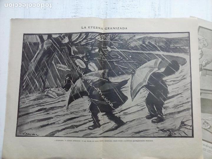 Tebeos: GEDEÓN ORIGINALES nºs 446 y 519 - 10 junio 1904 Madrid - 5 noviembre 1905 - Foto 6 - 108312695