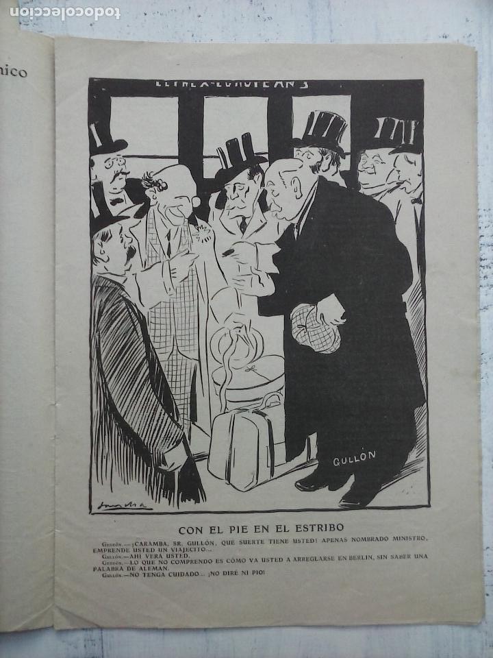 Tebeos: GEDEÓN ORIGINALES nºs 446 y 519 - 10 junio 1904 Madrid - 5 noviembre 1905 - Foto 9 - 108312695