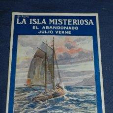Livros de Banda Desenhada: (M) JULIO VERNE - LA ISLA MISTERIOSA EL ABANDO NUM 2 - PUBLICACIONES MUNDIAL AÑOS 20, SEÑALES DE USO. Lote 108814287