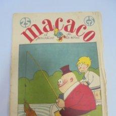 Tebeos: TEBEO. MACACO EL PERIODICO DE LOS NIÑOS. 21 OCTUBRE 1928. Nº 39. Lote 108866747