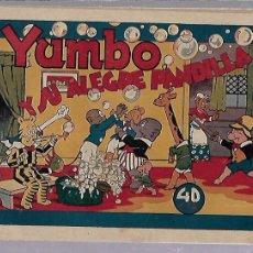 Tebeos: TEBEO. YUMBO Y SU ALEGRE PANDILLA. HISPANO AMERICANA DE EDICIONES. ORIGINAL. Lote 108876463