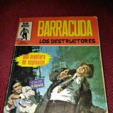 Tebeos: MISIÓN IMPOSIBLE BARRACUDA LOS DESTRUCTORES UNA AVENTURA DE ESPIONAJE NÚMERO 23 1971. Lote 109183118
