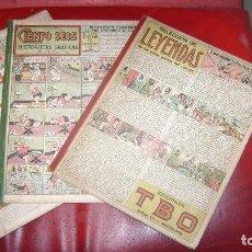 Tebeos: EDICIONES TBO TEBEO LOS TRES ALBUMES DE 1945 COLECCION COMPLETA Y A PRECIO ESTINTITN. Lote 109482431