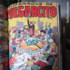Tebeos: EXTRAORDINARIO TOMO ENCUADERNADO PUMBY + PULGARCITO- AÑOS 1955/56/57-IDEAL COLECCIONISTAS. Lote 110118991