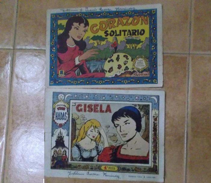 LOTE DE 2 TEBEOS FEMENINOS. (Tebeos y Comics - Tebeos Otras Editoriales Clásicas)