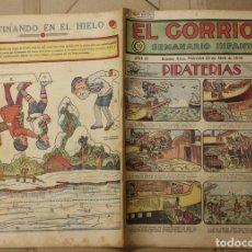 Tebeos: EL GORRION SEMANARIO INFANTIL. Nº 177. 22 DE ABRIL DE 1936. CON RECORTABLE EN TRASERA. Lote 111589959