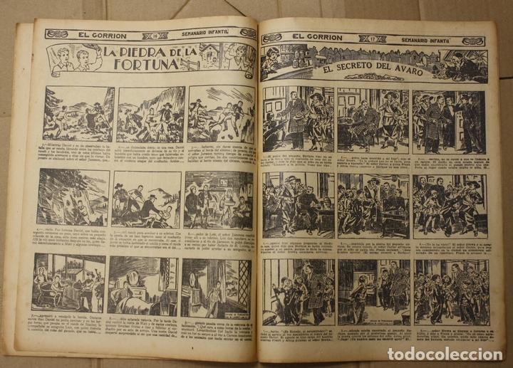 Tebeos: EL GORRION SEMANARIO INFANTIL. Nº 177. 22 DE ABRIL DE 1936. CON RECORTABLE EN TRASERA - Foto 2 - 111589959