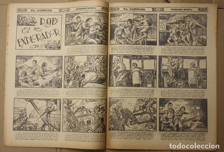 Tebeos: EL GORRION SEMANARIO INFANTIL. Nº 200. 30 DE SEPTIEMBRE DE 1936. BUENOS AIRES, ARGENTINA - Foto 3 - 111590254