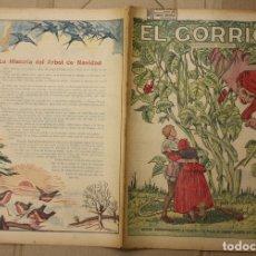 Tebeos: EL GORRION SEMANARIO INFANTIL. Nº 212. 23 DE DICIEMBRE DE 1936. JUANITO Y EL TALLO DE HABAS. Lote 111590862