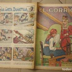 Tebeos: EL GORRION SEMANARIO INFANTIL. Nº 213. 30 DE DICIEMBRE DE 1936. LA BELLA DURMIENTE DEL BOSQUE. Lote 111591011