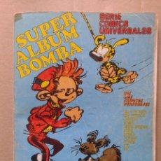 Tebeos: SUPER ALBUM BOMBA N°4. SERIE CÓMICS UNIVERSALES. MUNDIS, 1980. 128 PÁGINAS A COLOR.. Lote 111949688
