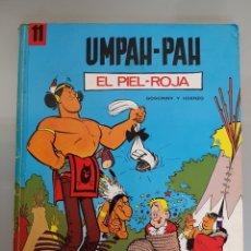 Tebeos: COMIC UMPAH-PAH EL PIEL-ROJA 1971 JAIME LIBROS GOSCINNY Y UDERZO. Lote 189385123