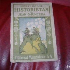 Tebeos: 1917 PRIMER LIBRO DE HISTORIETAS DE JUAN G JUNCEDA PRIMERA VEZ EN TODOCOLECCION CJ20. Lote 112002863