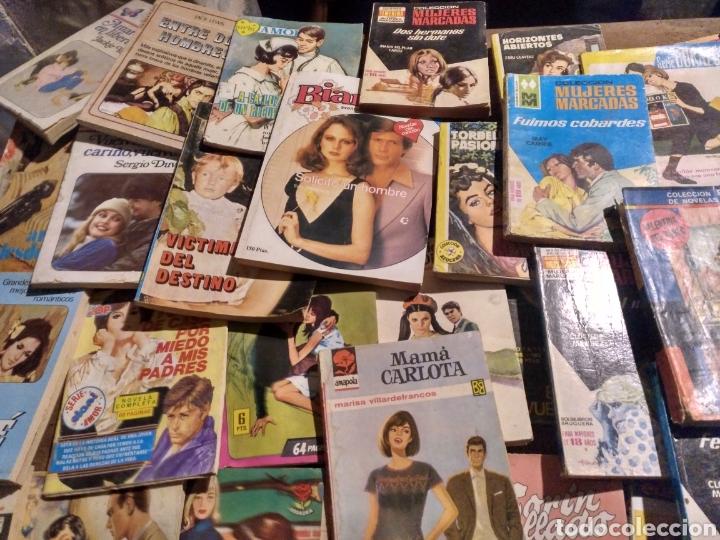 Tebeos: Gran lote de novelas. 170 más o menos Corin Tellado, Pueyo, Coral, Corinto etc.. Barato - Foto 5 - 112058182