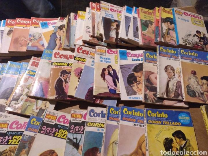 Tebeos: Gran lote de novelas. 170 más o menos Corin Tellado, Pueyo, Coral, Corinto etc.. Barato - Foto 8 - 112058182