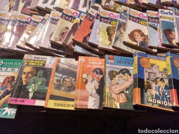 Tebeos: Gran lote de novelas. 170 más o menos Corin Tellado, Pueyo, Coral, Corinto etc.. Barato - Foto 11 - 112058182