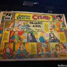 Tebeos: CUENTOS SELECTOS CISNE. EL PAJAR AZUL.. Lote 112173490