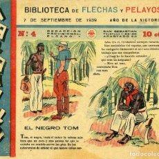 Tebeos: MARAVILLAS. BIBLIOTECA DE FLECHAS Y PELAYOS. Nº 4. AÑO 1939.. Lote 112270355