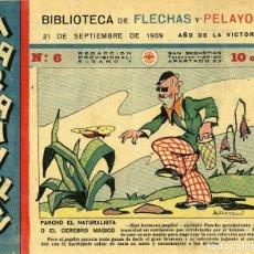 Tebeos: MARAVILLAS. BIBLIOTECA DE FLECHAS Y PELAYOS. Nº 6. AÑO 1939.. Lote 112270455
