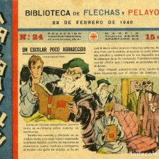 Tebeos: MARAVILLAS. BIBLIOTECA DE FLECHAS Y PELAYOS. Nº 24. AÑO 1940.. Lote 112270547