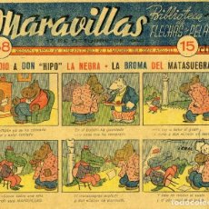 Tebeos: MARAVILLAS. BIBLIOTECA DE FLECHAS Y PELAYOS. Nº 58. AÑO 1940.. Lote 112270615