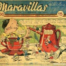 Tebeos: MARAVILLAS. BIBLIOTECA DE FLECHAS Y PELAYOS. Nº 66. AÑO 1940.. Lote 112270683