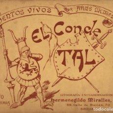 Tebeos: CUENTOS VIVOS, DE APELES MESTRES. EDICIÓN EN 2 NÚMEROS A GRAN TAMAÑO (35 X 28 CMS.) EDICIÓN DE 1898. Lote 112821599