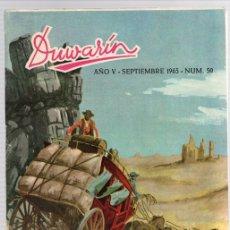 Tebeos: DUWARIN. Nº 50. SEPTIEMBRE 1965. CLUB DUWARD, MADRID. Lote 112970963