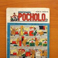 Tebeos: EDICIONES POCHOLO, Nº 35, DON CAYETANO NO PUEDE DORMIR - EDITORIAL S. VIVES 1945. Lote 113140811