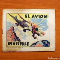 Tebeos: EL AVIÓN INVISIBLE - EDITORIAL ESPAÑOLA 1939 - TAMAÑO 17X21. Lote 113145003