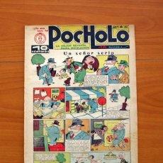 Tebeos: POCHOLO - Nº 187, UN SEÑOR SERIO - EDITORIAL S. VIVES 1930 - TAMAÑO 30X20 CM.. Lote 113458879
