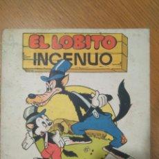 Tebeos: EL LOBITO INGENUO CUENTOS WALT DISNEY EDITORIAL ROMA SERIE ENCARNADA VOLUMEN 2/ ORIGINAL. Lote 113515964