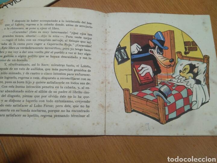 Tebeos: EL LOBITO INGENUO CUENTOS WALT DISNEY EDITORIAL ROMA SERIE ENCARNADA VOLUMEN 2/ ORIGINAL - Foto 3 - 113515964