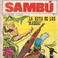 Tebeos: SAMBU Nº 19 - VILMAR. Lote 113945699