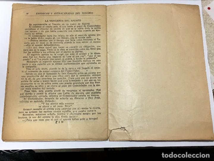 Tebeos: Sandeces , astracanadas y chistes del Tenorio, Colección Tenorio, Editorial El Gato Negro, de 1933 - Foto 3 - 114096923