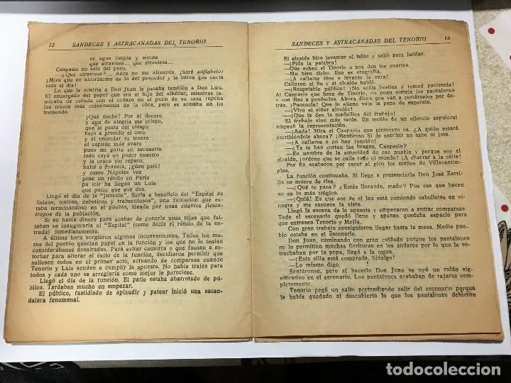 Tebeos: Sandeces , astracanadas y chistes del Tenorio, Colección Tenorio, Editorial El Gato Negro, de 1933 - Foto 4 - 114096923