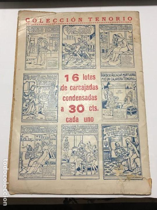 Tebeos: Sandeces , astracanadas y chistes del Tenorio, Colección Tenorio, Editorial El Gato Negro, de 1933 - Foto 2 - 114096923