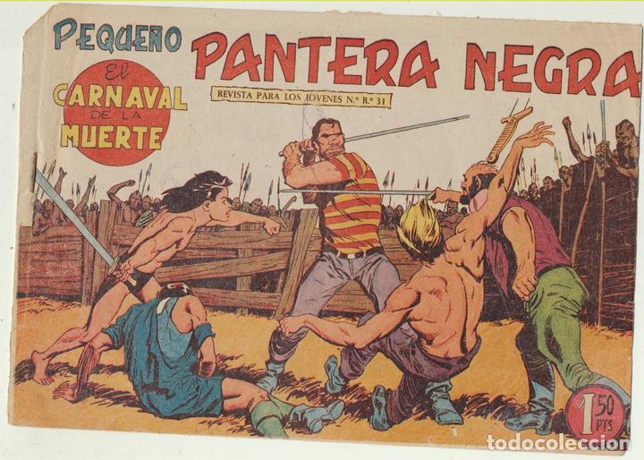 PEQUEÑO PANTERA NEGRA Nº 140. MAGA 1958. (Tebeos y Comics - Tebeos Otras Editoriales Clásicas)