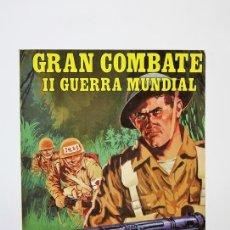 Tebeos: CÓMIC - GRAN COMBATE II GUERRA MUNDIAL, EXTRA Nº 4 RETAPADO: Nº 13 AL 16 - EDI. GAVIOTA - AÑO 1985. Lote 115105620