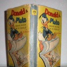 Tebeos: DONALD & PLUTO MOVIE BOOK - WALT DISNEY AÑO 1939 - FLIP BOOK ORIGINAL.. Lote 115116283