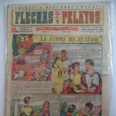 Tebeos: FLECHAS Y PELAYOS Nº 225 DEL 28 MARZO DE 1943. Lote 115205023