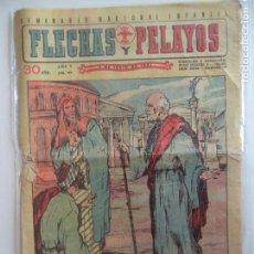 Tebeos: FLECHAS Y PELAYOS Nº 187 DEL 3 DE JULIO DE 1942. Lote 115205723