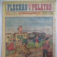 Tebeos: FLECHAS Y PELAYOS Nº 184.DEL14 DE JUNIO 1942. Lote 115206763